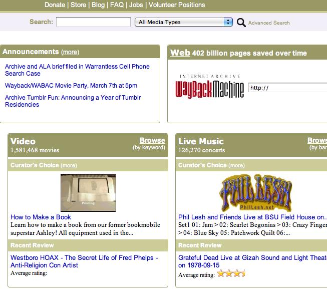 Ver películas online gratis completas en Archive.org